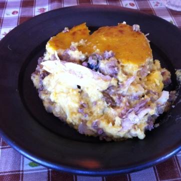 Pastel de Choclo (restaurante das tias fofinhas)