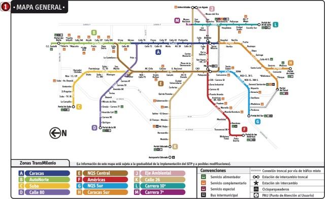 Mapa-Transmilenio